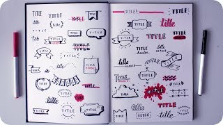 50 Cute Ways To Write A Title