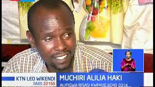 Muchiri Alilia Haki: Alibaki chongo baada ya kupigwa na risasi inayoaminika kuwa ya polisi