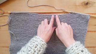 How to Cable Cast-on Technique - Casting on in the middle of your knit project