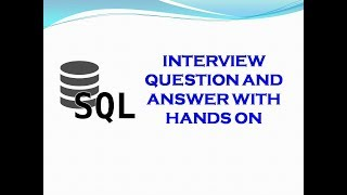 How to Find the 3rd/nth Min Salary from Table using SQL with Hands on Details