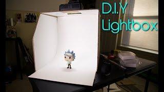 DIY LIGHTBOX Under $10 DOLLARS