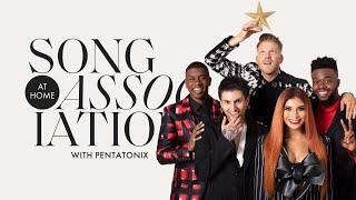Pentatonix Sings Beyoncé, Ariana Grande, And Lady Gaga In A Game Of Song Association | ELLE