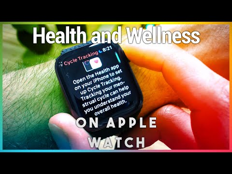 Health & Wellness Features on Apple Watch - Breathe, Cycle Tracking, ECG, Heart Rate, and More