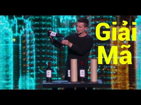 Giải mã ảo thuật biến ra nhiều chai rượu của Mat Franco tại America's Got Talent