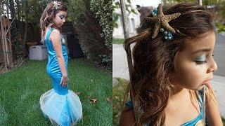 DIY Mermaid Costume And Makeup | Ylette Inspired