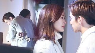 《MAKING FILM》Yoo Seung Ho ♥ Park Min Young, Kiss Scene behind!|두근두근 '우아키스' 탄생 비하인드! @Remember