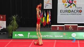 BELARUS, Juniors Women's Group    Juniors Euroacro 2013