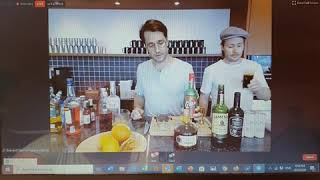 Virtual Cocktails from Bangkok - with: Mixologist Ben-David Sorum