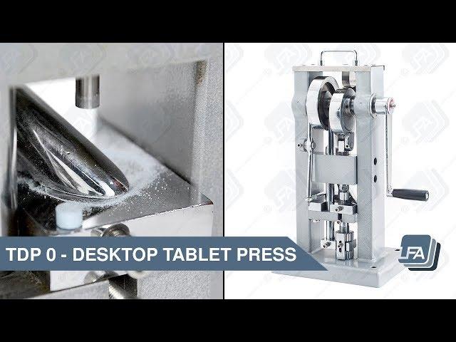 TDP 0 Desktop Tablet Press