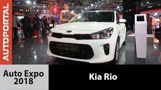 Kia Rio at Auto Expo 2018 - Autoportal
