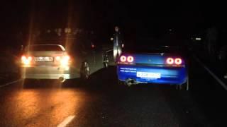 Нефтеюганск  Toyota Altezza vs  Nissan Skyline