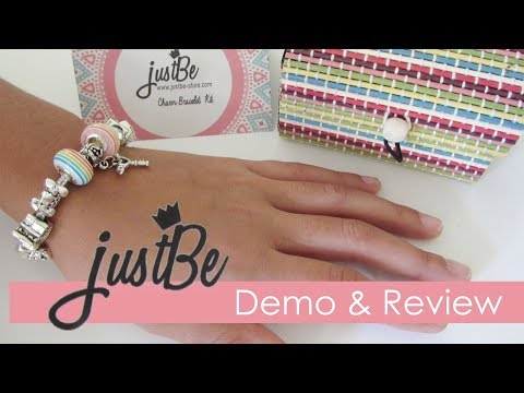 JustBe Charm Bracelet Kit – Demo and Review