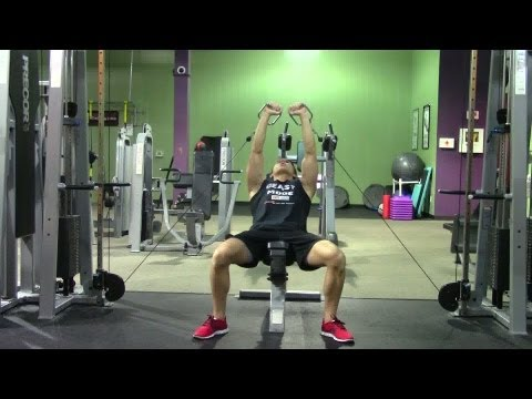 Lying Cable Incline Bench Press