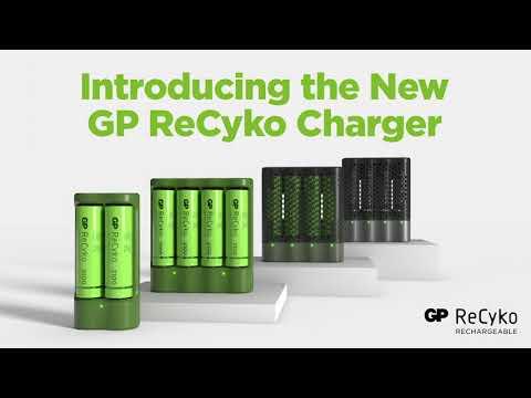 GP ReCycko snelle batterijlader M451 + 4x AA 2600mAh