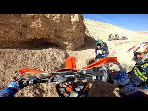 Sugar trail desert ride on the KTM EXCF 350