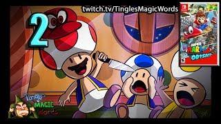 Tingles Plays   Super Mario Odyssey Episode 2