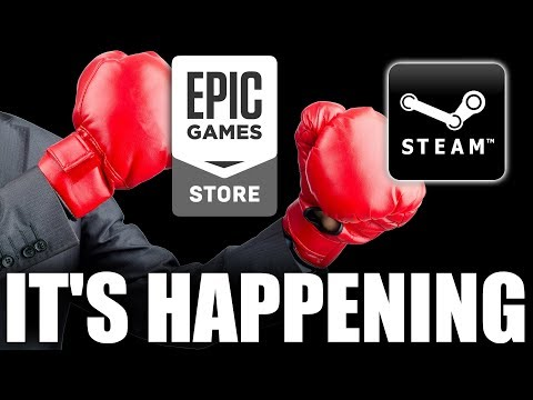 Steam vs  Epic Games - What Can Steam do to Remain
