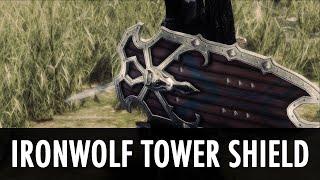 Skyrim Mod Spotlight: IronWolf Tower Shield