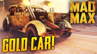 Mad Max Game: Hidden RARE Car Location! The Golden Tuska Gameplay Guide - PS4 1080p 60fps