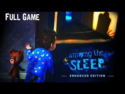 Among the Sleep - Enhanced Edition Full game & Ending Gameplay Playthrough (Horror game)