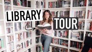 BOOKSHELF TOUR 2020 | My Home Library & How I Organize Books