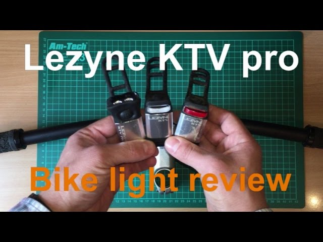 Видео Комплект света Lezyne Micro Drive 600XL/KTV Pro Drive Pair 600/75 Lm черный