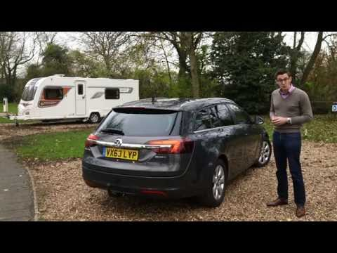 Practical Caravan reviews the Vauxhall Insignia Sports Tourer