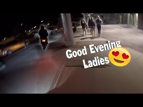 Late Night Adventures Get Interesting (Girls, Security, & Crazy Drivers)