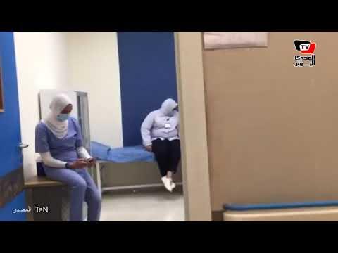 مشاهد من داخل أول مركز تطعيم ضد كورونا في مصر