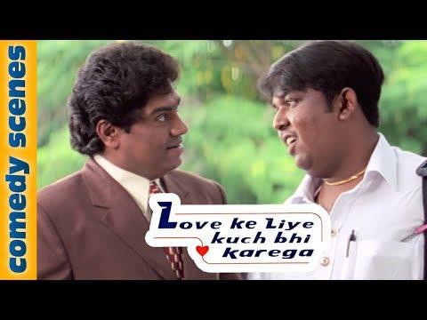 Johnny Lever Comedy Scenes - Love Ke Liye Kuch Bhi Karega -  Comedy Hindi Movie