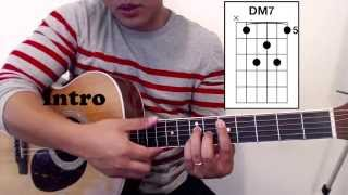 Oo Tutorial WITH CHORDS (Up Dharma Down)