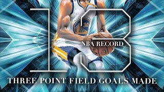 Stephen Curry Breaks NBA 3 Point Record With 13 3s! 11-7-2016 Warriors vs Pelicans