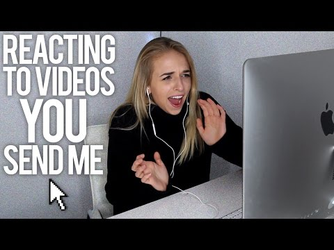 REACTING TO VIDEOS YOU SEND ME