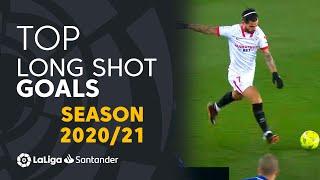 TOP 10 LONG SHOT GOALS LaLiga Santander 2020/2021