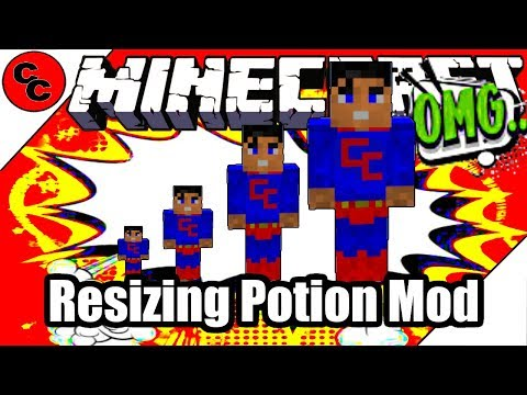 "Minecraft Mods: "" Resizing Potion Mod 1.12.2 """