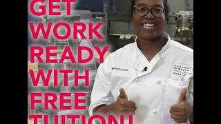 Get Work Ready with Free Tuition
