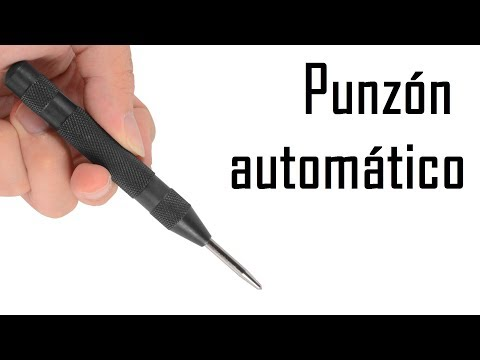 Granete o Botador automático, Automatic center punch