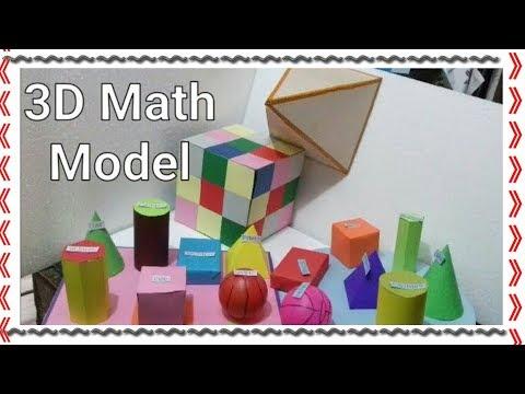 School Project - Maths Shape of House Model ( www