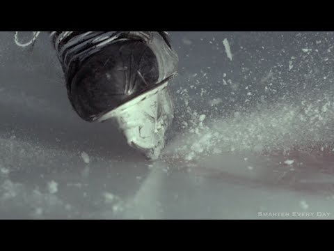 COLD HARD SCIENCE.The Physics of Skating on Ice (With SlowMo) – Smarter Every Day 110