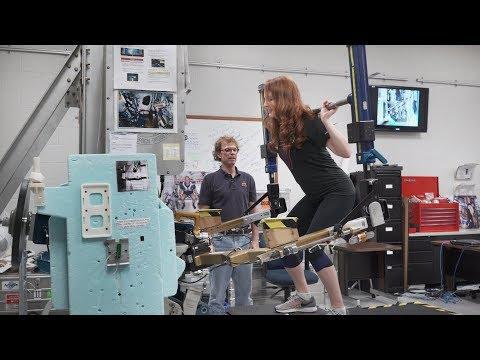 How astronauts exercise in microgravity