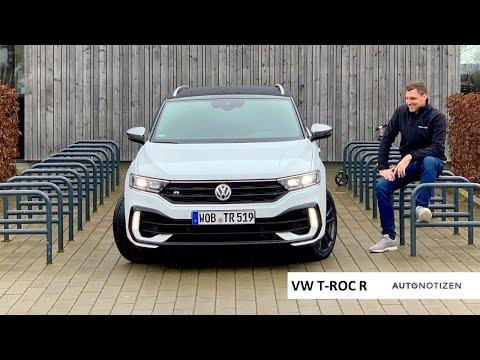 VW T-Roc R 2020: 300 PS im Allrad-SUV mit Akrapovic-Anlage im Review, Test, Fahrbericht