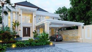 Video Desain Rumah Classic 2 Lantai Bapak Gatot di  Yogyakarta