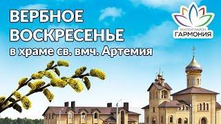 Вербное воскресенье в жилом районе Гармония города Михайловска Ставропольского края