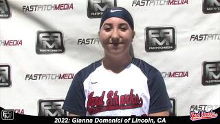 2022 Gianna Domenici Catcher Softball Skills Video - Yardsharks
