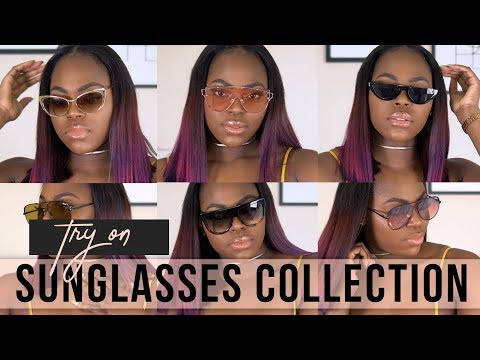 SUNGLASS COLLECTION 2018: Quay Australia, Celine + Try On || KEAMONE F.