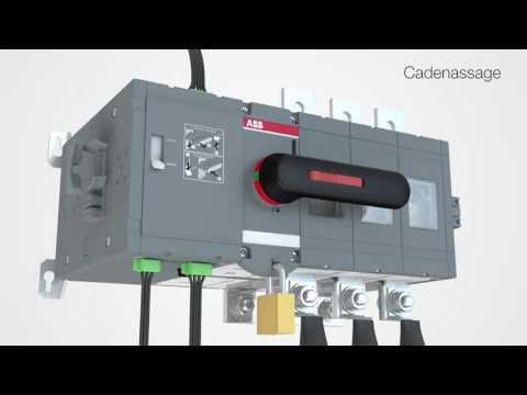 Inverseur de sources motorisé OTM160...800A - montages des accessoires