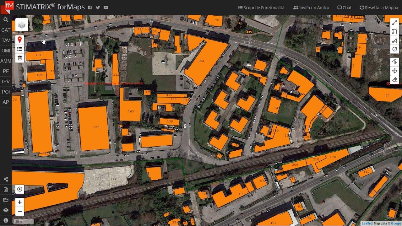 Mappe di base e livelli aggiuntivi con STIMATRIX® forMaps