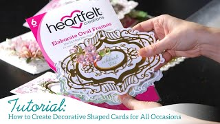 How to Create Decorative Shaped Cards for All Occasions