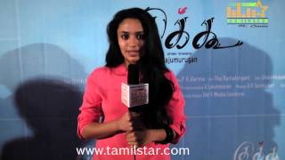 Malavika Nair Speaks at Cuckoo Movie Success Meet