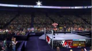 WWE '12 The Miz Updated Entrance [Video]